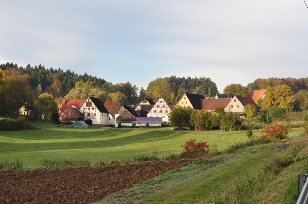 Herbstmorgen in Großmeinfeld