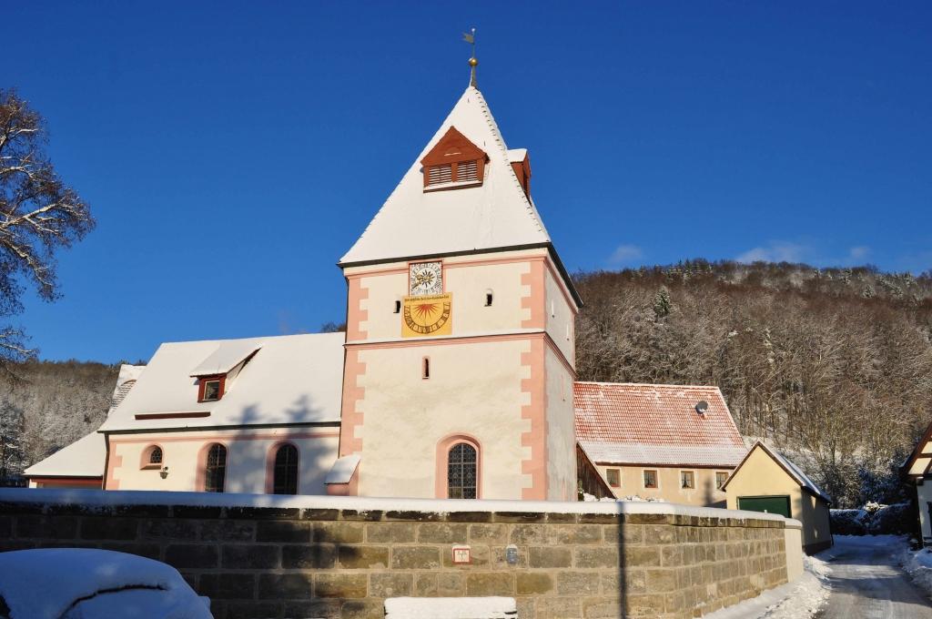 Katharinenkirche im Januar 2017