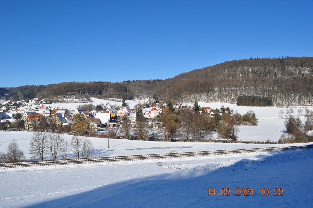Winter im Pegnitztal 2021