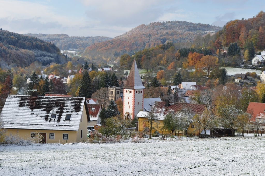 Erster Schnee 2012 am 21. So.n.Trinitatis