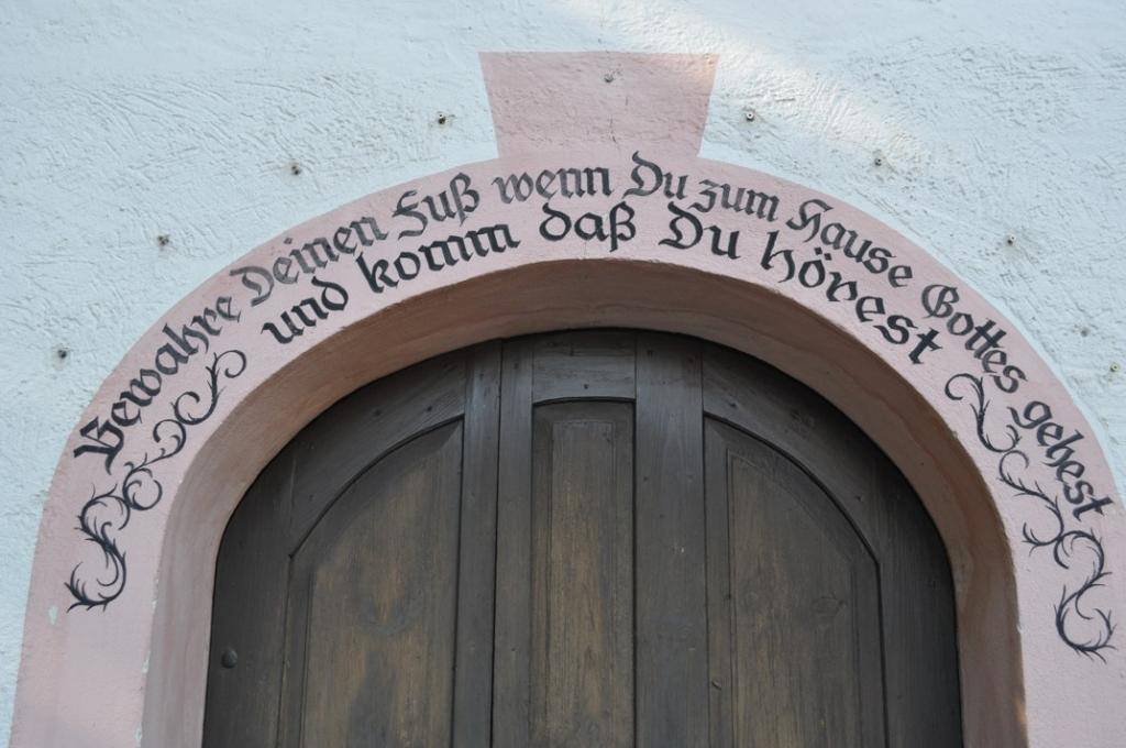 Eingangstür Katharinenkirche